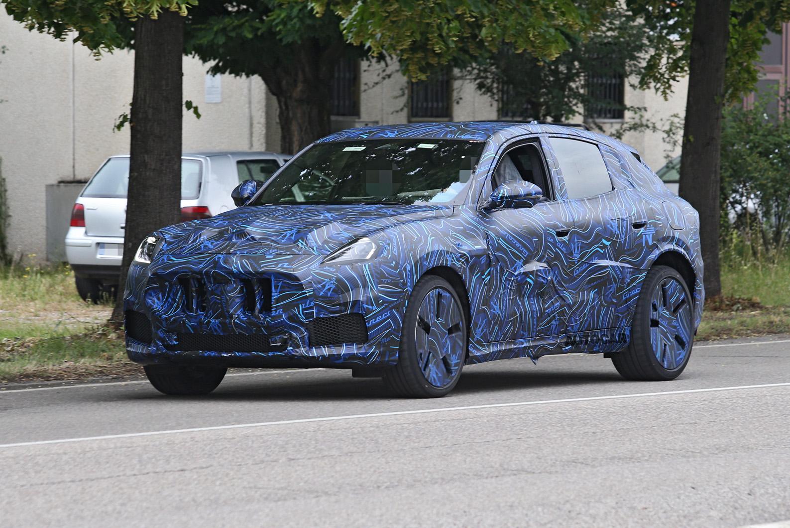 Nuevo SUV Maserati Grecale descubierto antes del lanzamiento en 2021