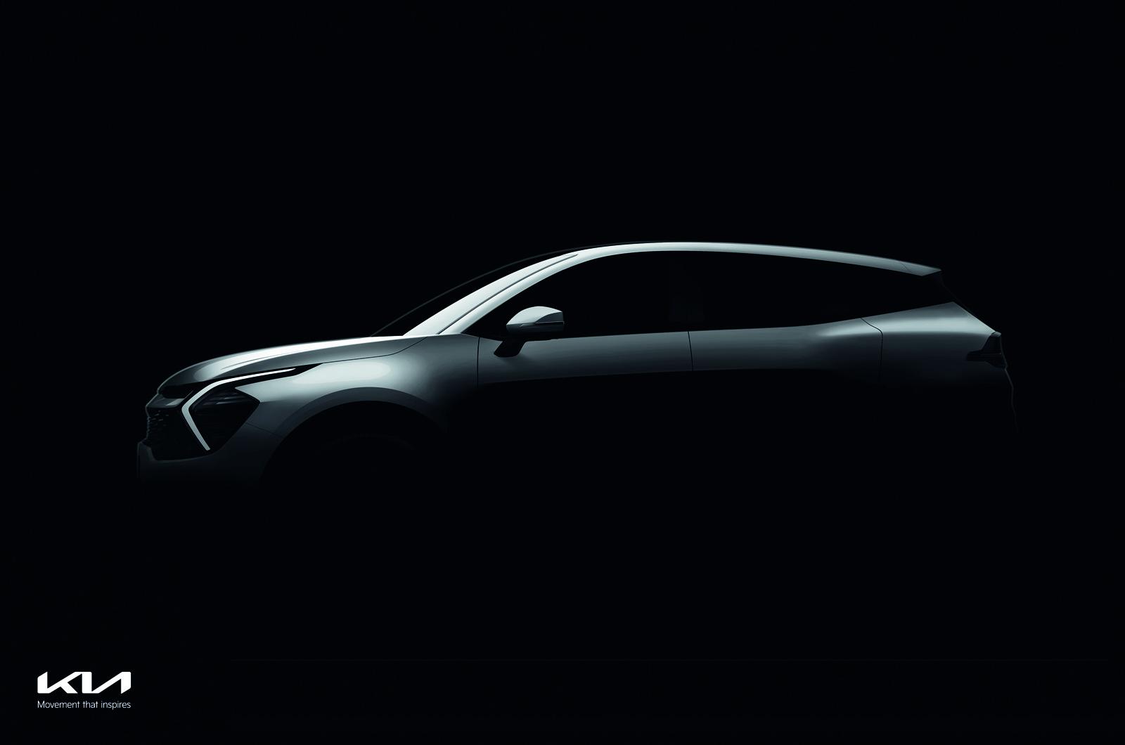 El Kia Sportage 2022 se presentará en las próximas semanas con consejos de diseño de EV6