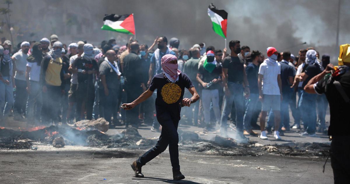 """Los palestinos protestan en el """"Día de la ira"""" en Cisjordania y Jerusalén"""
