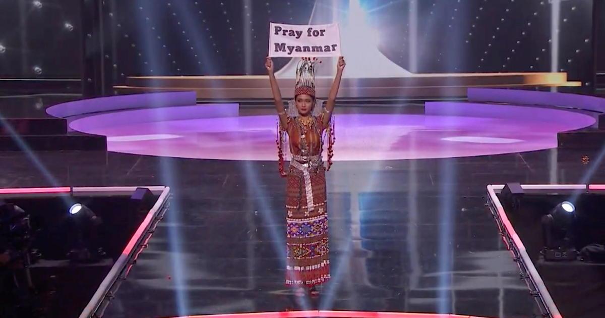 """Miss Myanmar hace una apasionada declaración contra el golpe militar en el certamen de Miss Universo: """"Nuestra gente está muriendo"""""""