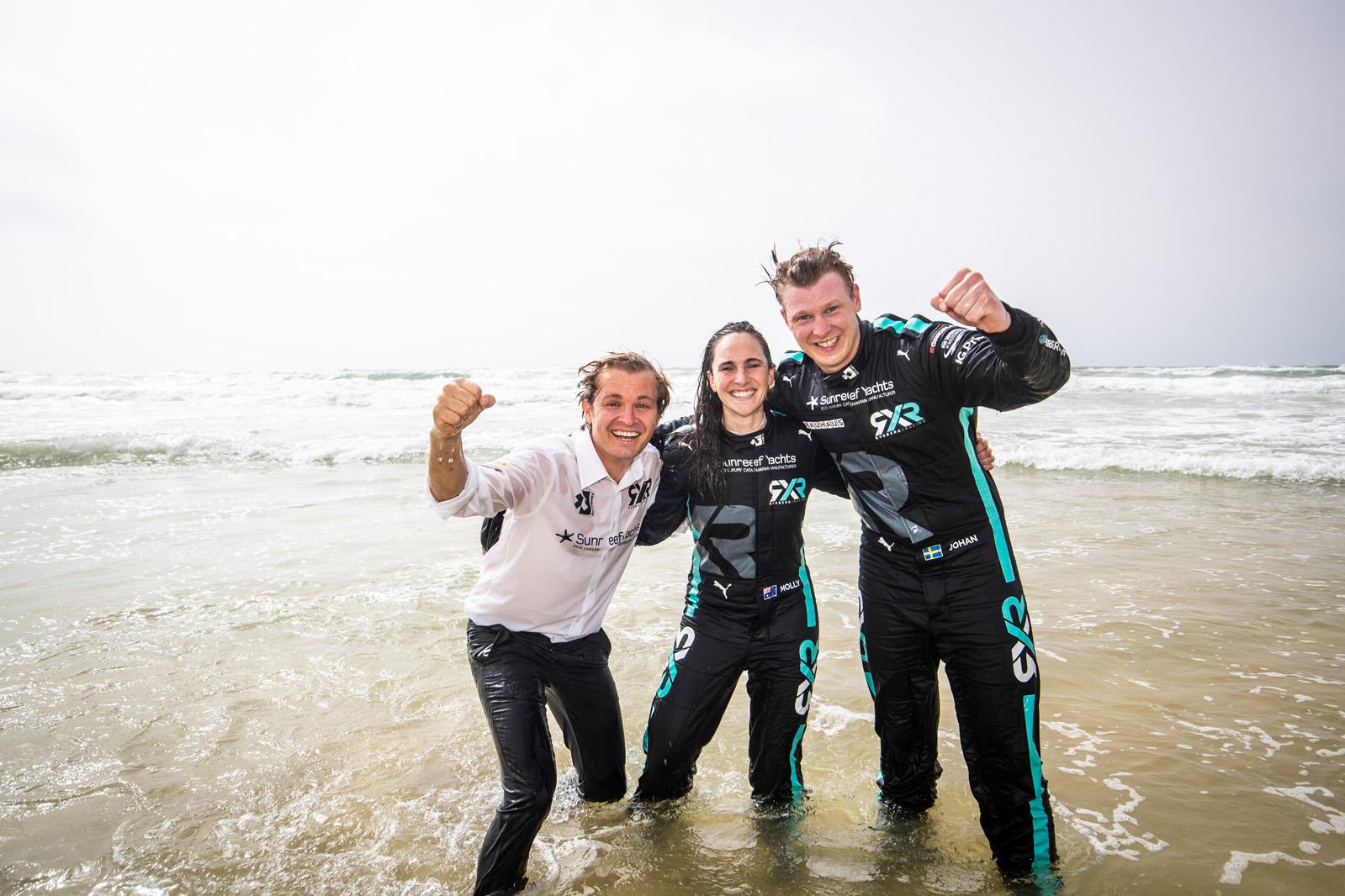 Rosberg X Racing gana dos de dos en Extreme E